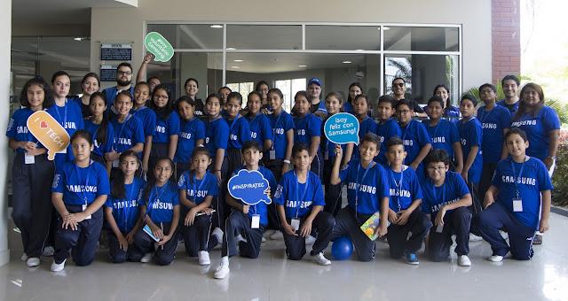 Samsung impulsa el Mes Global del Voluntariado con InspiraTec