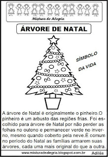 Texto sobre árvore natal