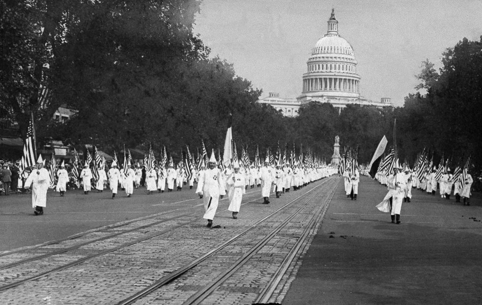 The KKK Washington Parade of 1926.