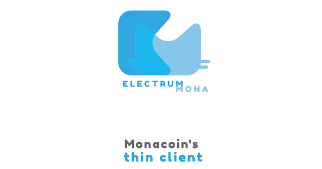 Electrum-Monaのウォレット(口座)開設方法