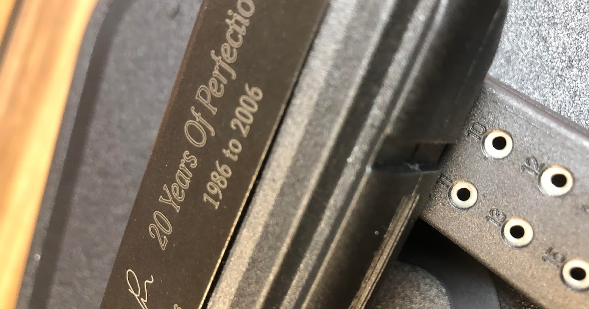 cashland pawn wv glock 20 years of perfection 1986 to 2006 20th anniversary limited edition. Black Bedroom Furniture Sets. Home Design Ideas