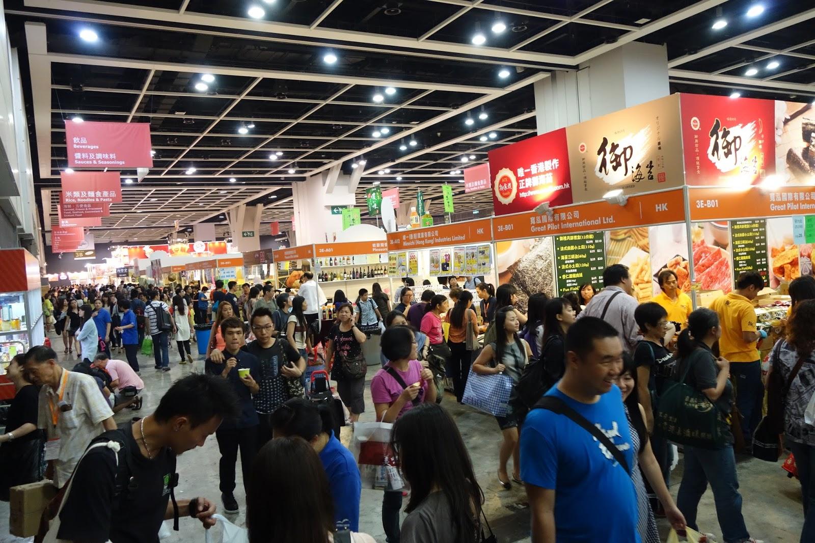 嘆盡全球美食 .香港美食博覽2013 | 安娜愛閒遊