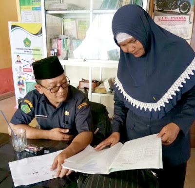 Seksi Bimas Islam Kemenag Tanjungbalai Laksanakan Monitoring ke KUA Kecamatan