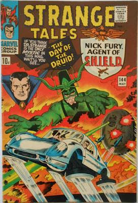 Strange Tales #144, Dr Strange, SHIELD
