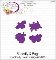 ODBD Custom Butterfly and Bugs Dies