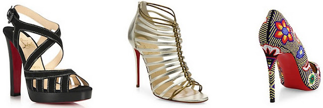 Women's Chrisitian Louboutin shoes at Saks