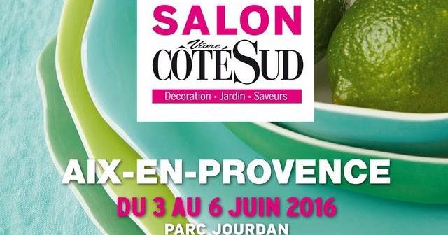 Salon vivre c t sud aix viens je t 39 invite initiales gg - Vision plus salon de provence ...