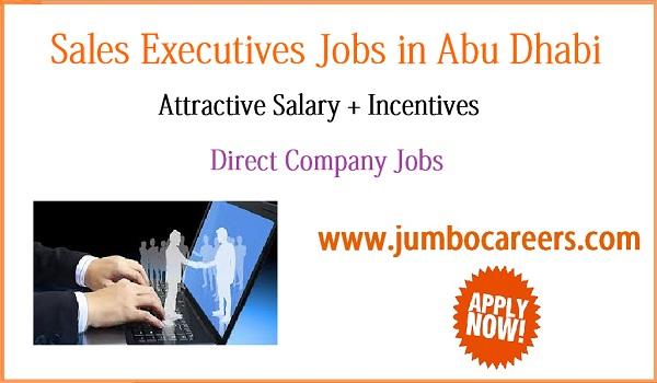 Urgent Abu Dhbai jobs with benefits, Sales jobs in Abu Dhabi 2018,