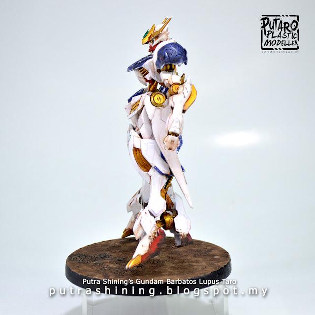 HGIBO 1/144 Barbatos Lupus Custom Paint - Citadel Paints by Putra Shining