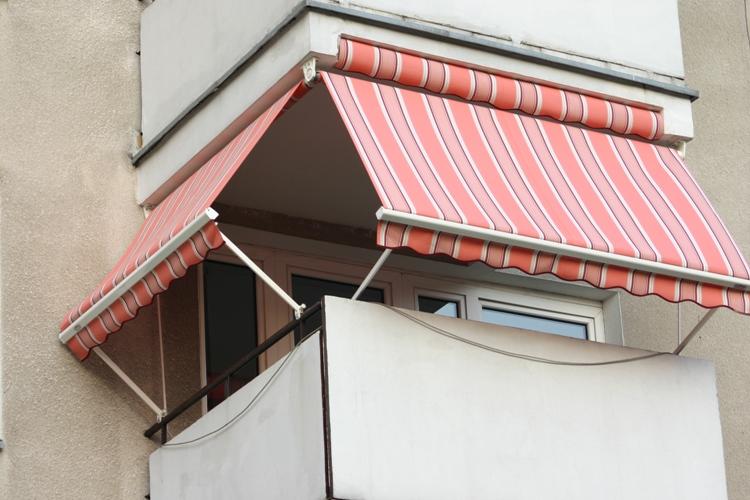 Mái che cho nhà ở khu chung cư