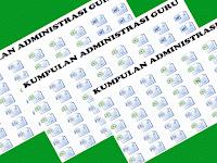 Perangkat Administrasi Pembelajaran Guru Kelas SD Lengkap