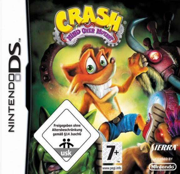 Descargar Crash Bandicoot Mind over Mutant para nintendo ds mediafire.