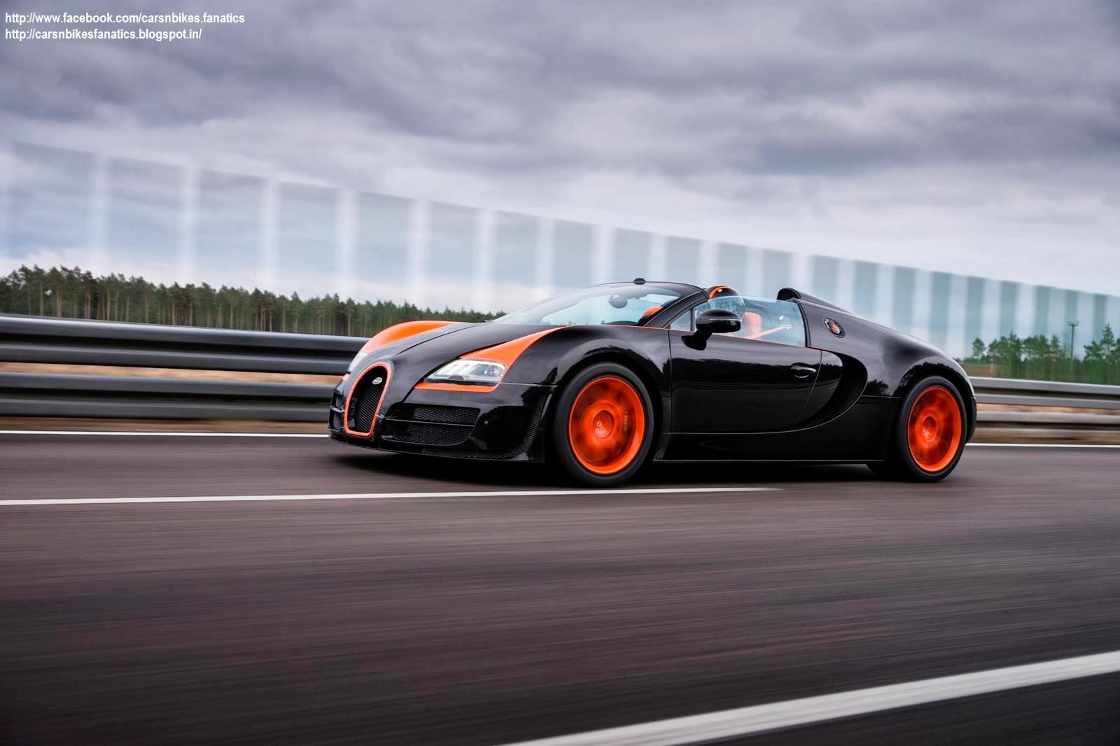 Car & Bike Fanatics: Bugatti Veyron Grand Sport Vitesse