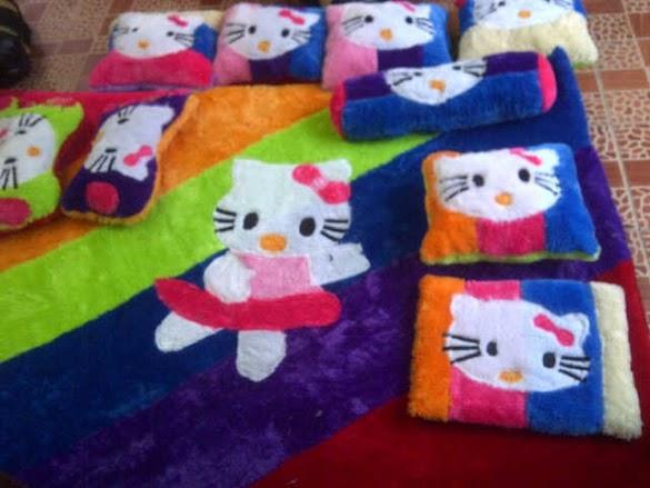Jual Karpet Set Karakter di Batam oleh Bunda Rina Online Shop