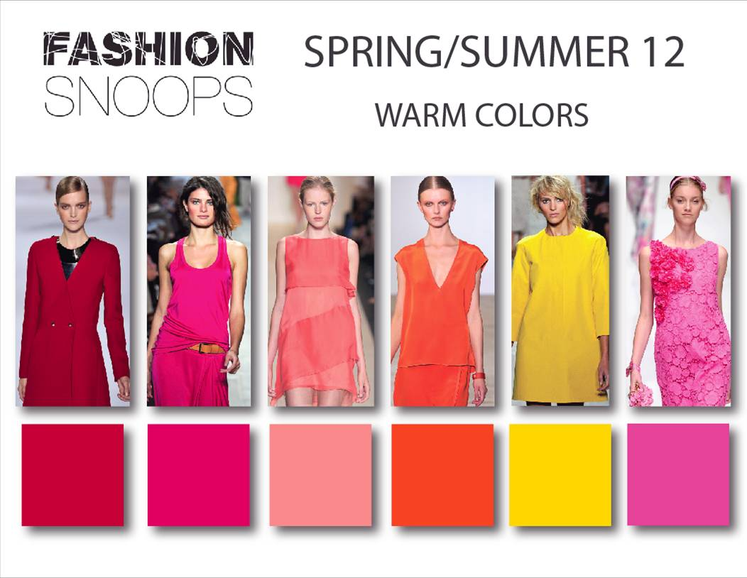 Bollywood: fashion color trends summer 2012.