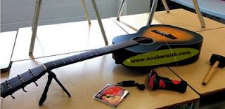 Jenis Kayu Yang Dipakai Untuk Membuat Gitar Akustik