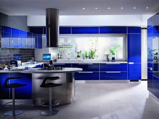 desain kitchen set mewah modern