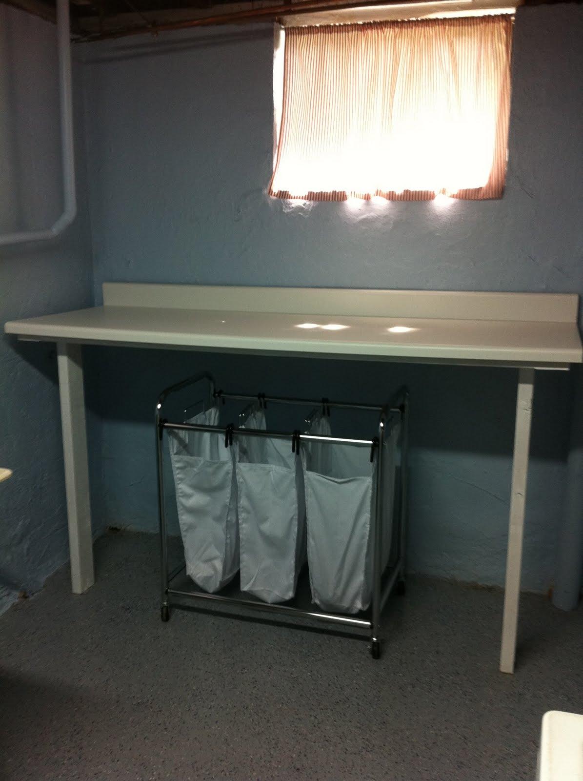 deMars Life on the East Coast Laundry Room Facelift