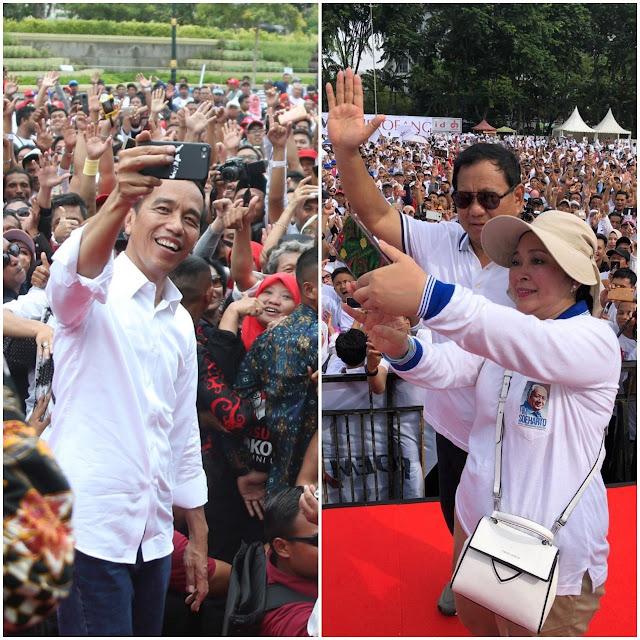 Jokowi Tantang Prabowo Bawa Bukti ke KPK Soal Anggaran Negara Bocor