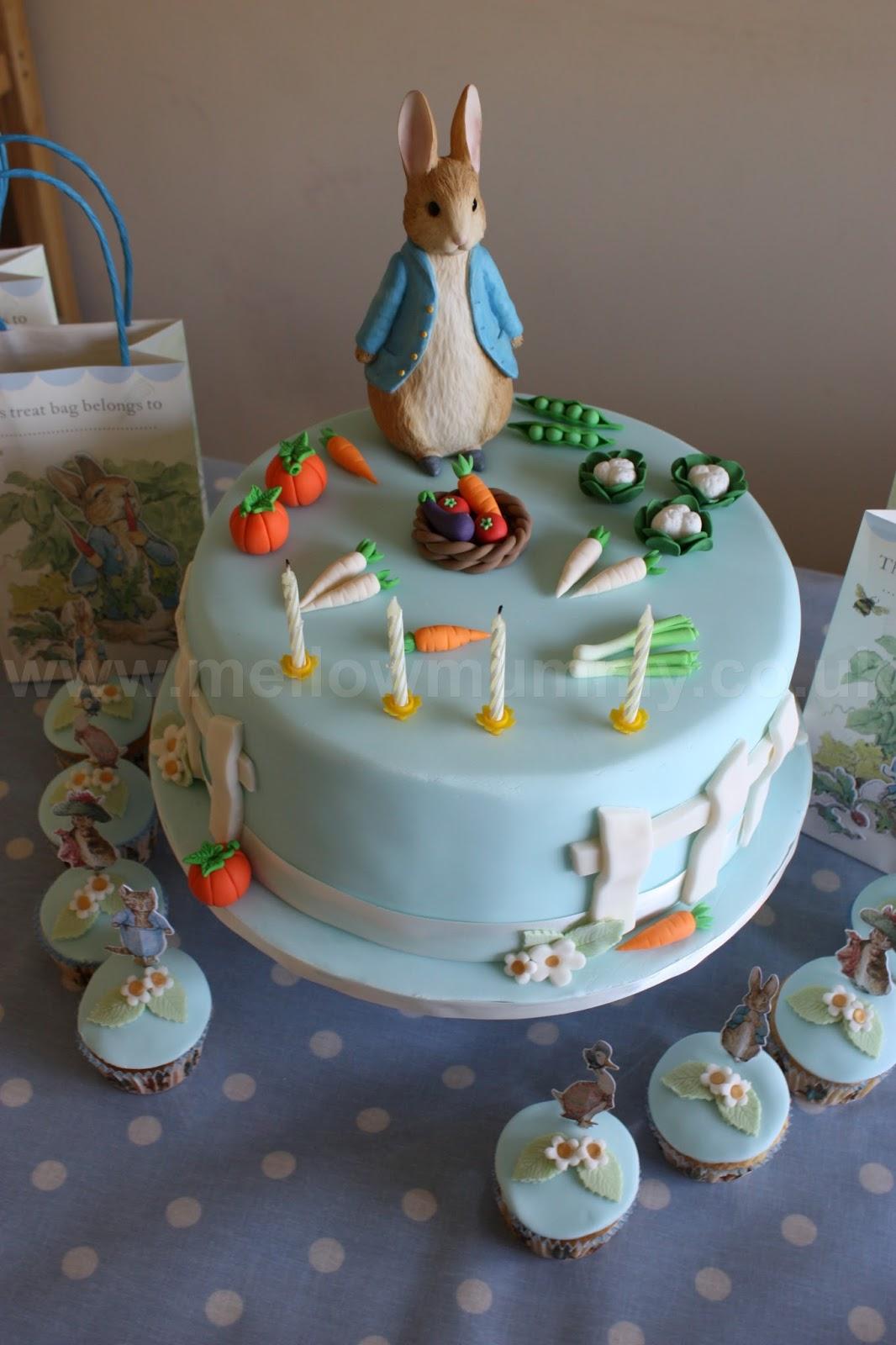Mellow Mummy The Peter Rabbit Birthday Cake Taking Life