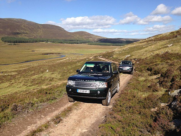 Queen Elizabeth, Duchess Catherine and Prince William were coming together for a picnic lunch in the hills above Loch Muick on the estate, and the Duchess, who is known as the Countess of Strathearn in Scotland