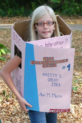 Baby-Sitter's Club Kristy's Great Idea cardboard costume