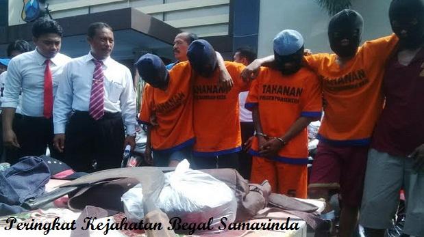 Peringkat Kejahatan Begal di Indonesia | Kota Samarinda di urutan berapa !!!