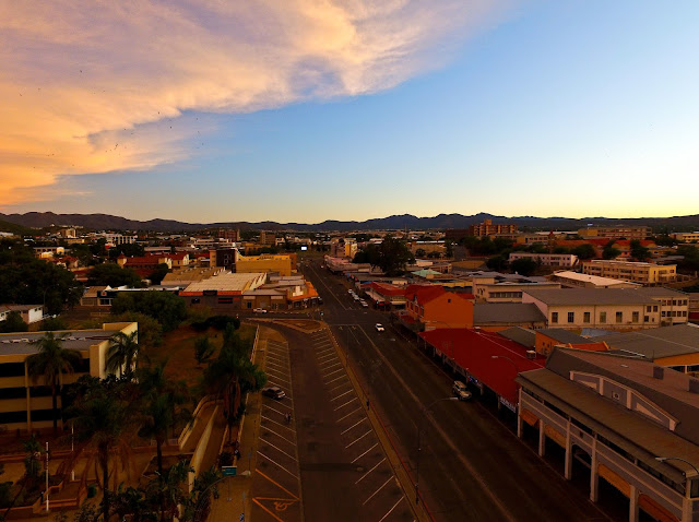 Namibia - Independence Avenue in Windhoek, the capital