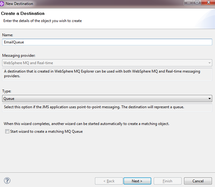 Publish/Subscribe in WebSphere MQ v7 with example