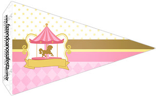 Carousel in Pink: Free Party Printables.