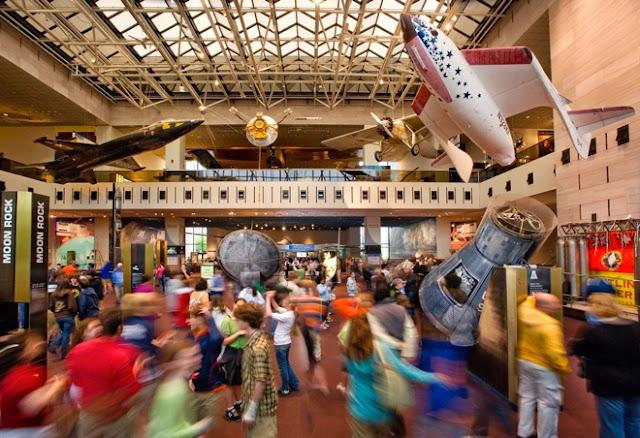 O que fazer com crianças em Washington: Museus