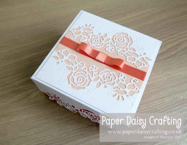 Lovely floral edgelits dies Stampin Up