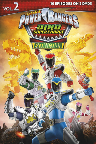 Power Rangers Dino Super Charge: Volume 2 – Extinction [2017] [DVDR] [NTSC] [Latino]