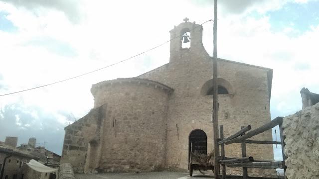 Maderuelo iglesia San Miguel