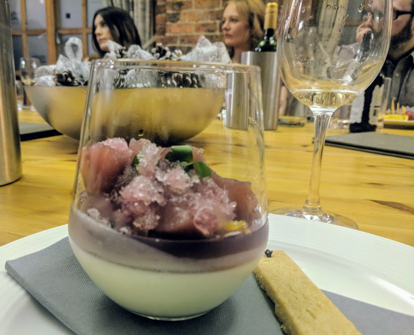 A Grown-Up Festive Weekend in Ouseburn - Artisan panna cotta