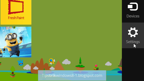 Cara Mengubah Tema Start Screen Windows 8.1