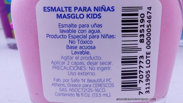 ingredientes esmaltes masglo