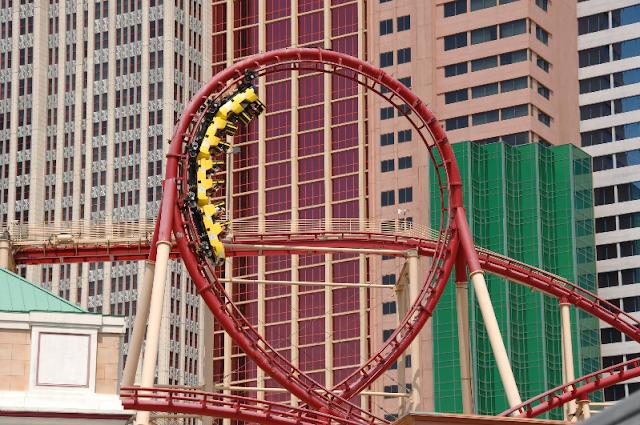 10 brinquedos e simuladores em Las Vegas