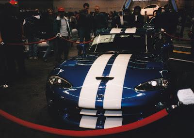 1997 Dodge Viper GTS at the 1997 Portland International Auto Show