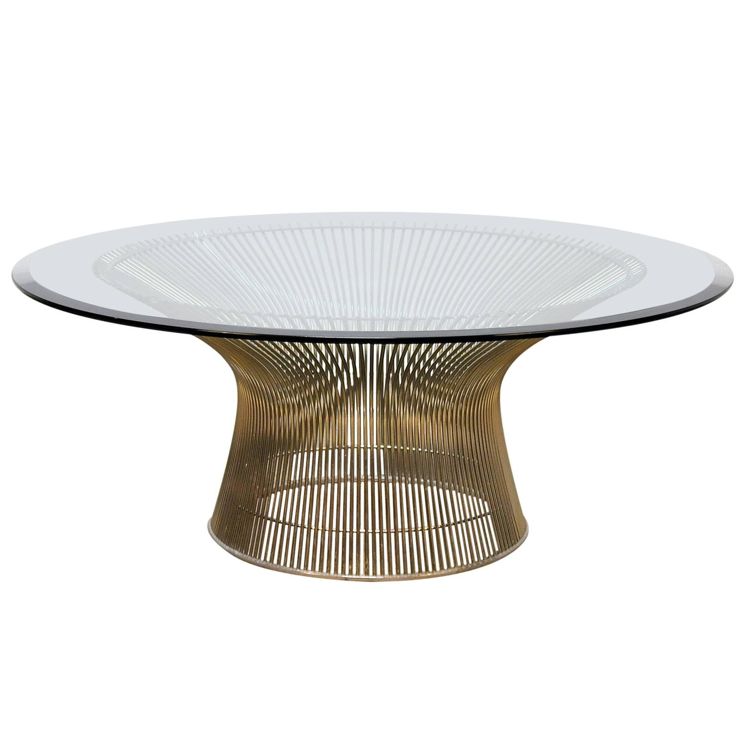 Select modern warren platner for knoll coffee or cocktail for Warren platner coffee table