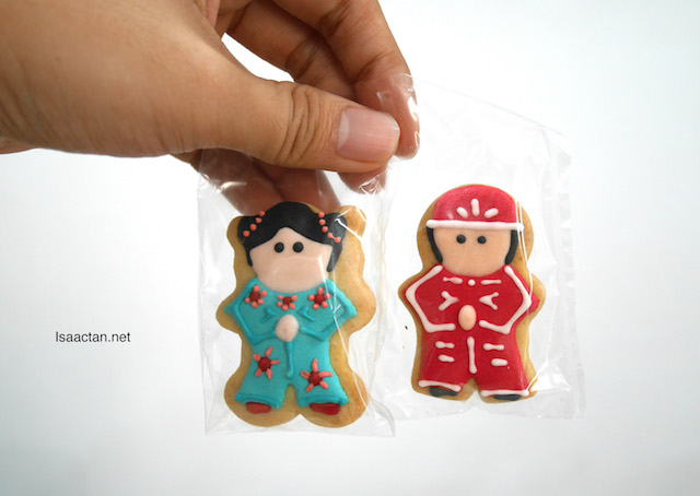 Not one, but two cute Treasure Cookies!