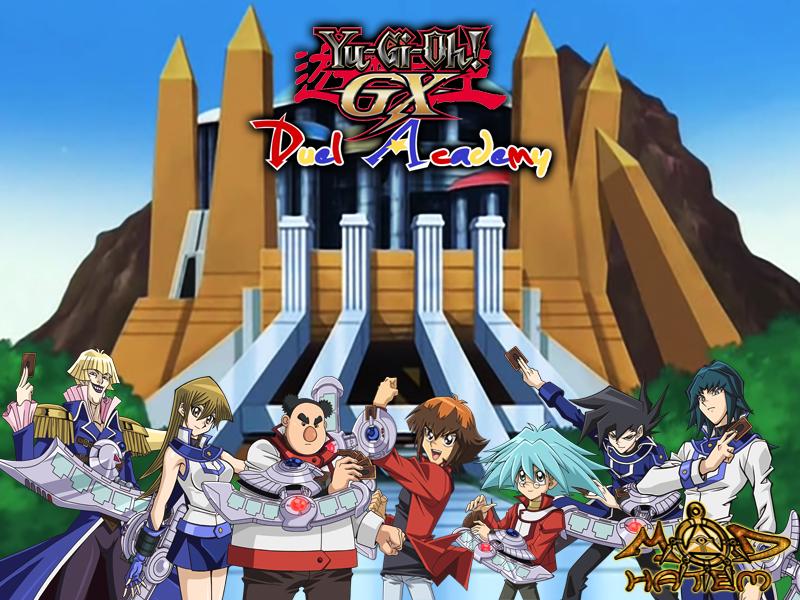 yu gi oh gx duel academy