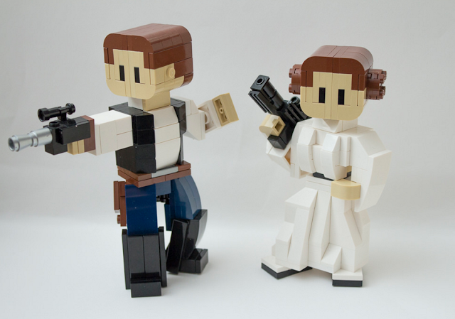Veja como você pode criar seu próprio BB-8 de STAR WARS utilizando peças de LEGO