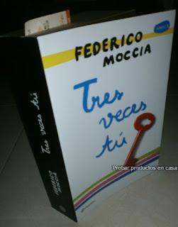 """""""Tres Veces tú"""" de Federico Moccia"""