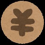 お金のマーク(円・札)