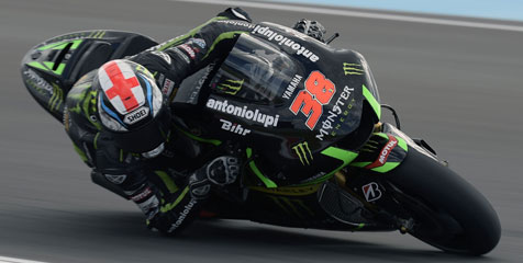 Smith Resmi Bertahan Di Monster Yamaha Tech 3