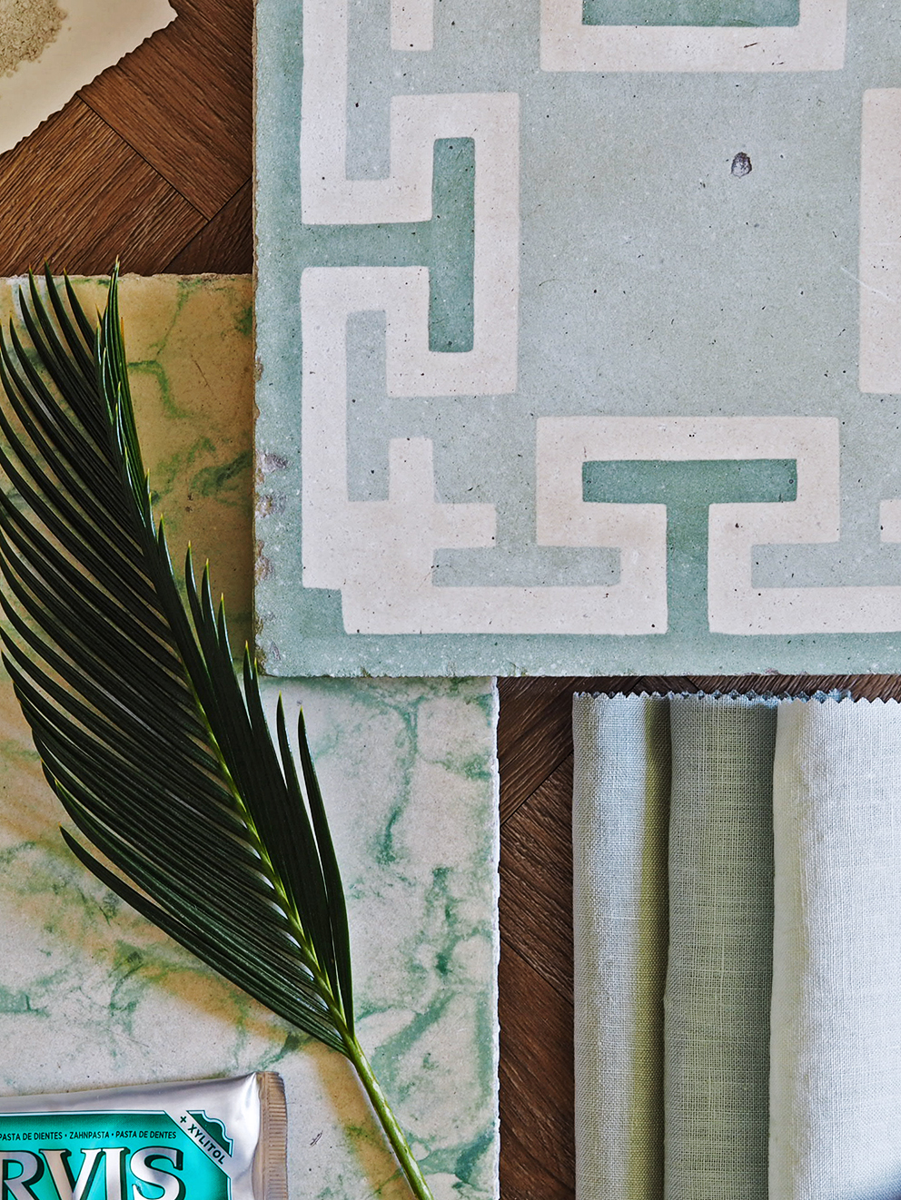 French For Pineapple Blog - Maitland & Poate Antinque Tiles - Green Tiles