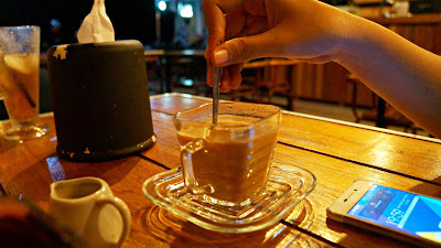 Aceh Gayo Vietnam drip with milk ala  Silent Resto & Coffee Shop