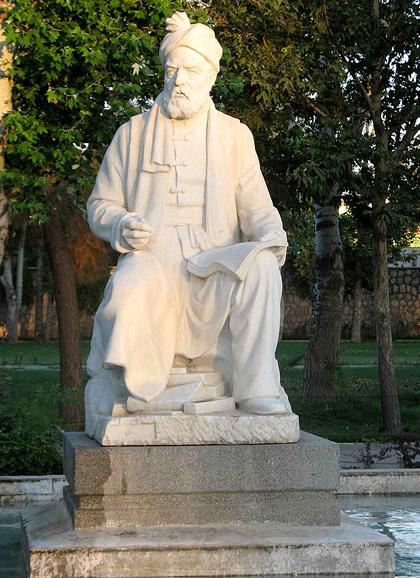 Firdawsi statue