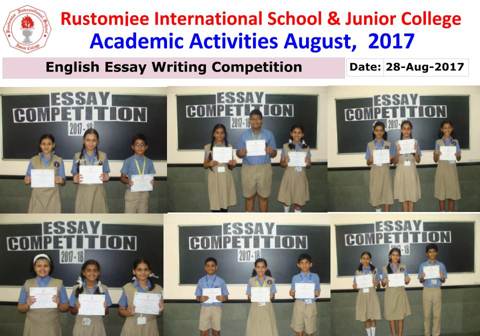 international essay writing competitions 2009 Essayprocom has launched an essay writing contest we invite students from all over the world to take part in it the main prize is $500 good luck.